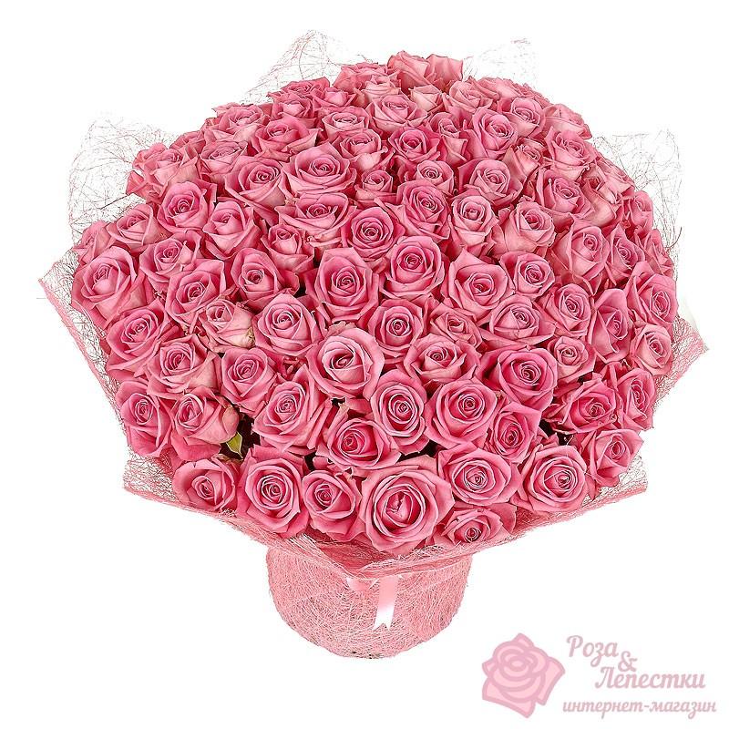 Купить цветы 101 роза в москве, букет и кустовых гвоздик и хризантем