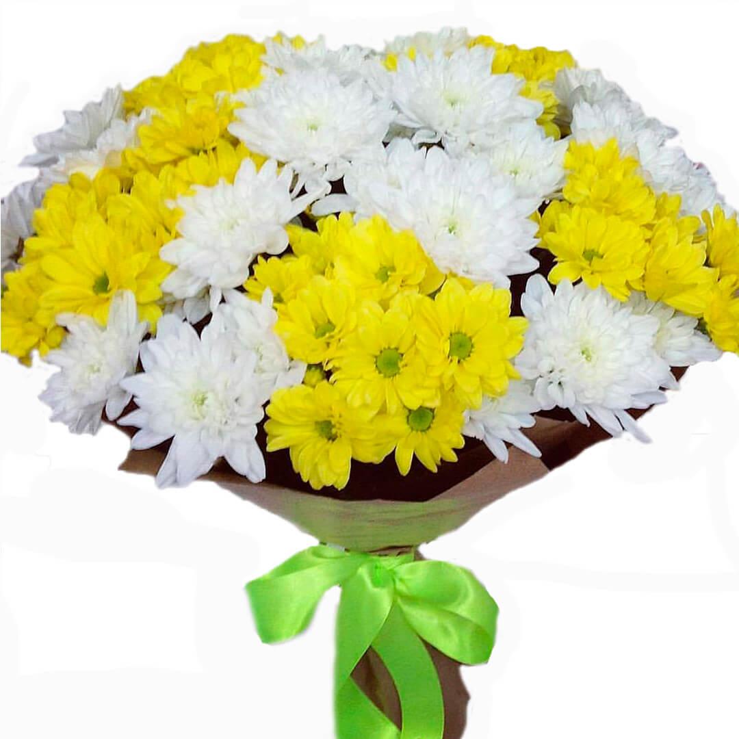 Букет хризантемы купить в москва