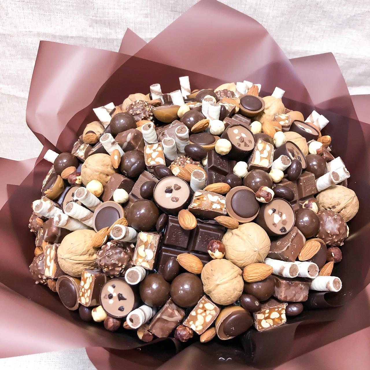 картинки с цветами и шоколадками обеспечивает прием