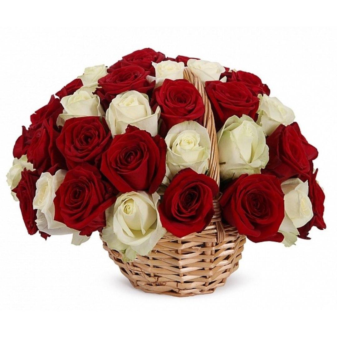 Картинка крещению, открытка розы белые и красные