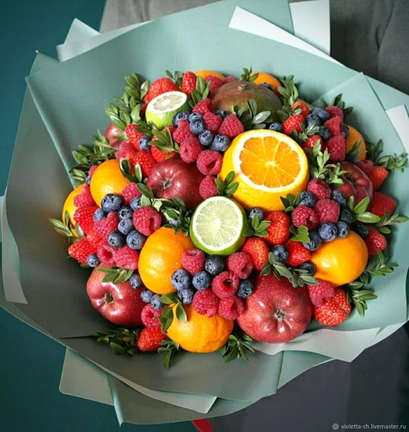 Ягодно-фруктовый букет