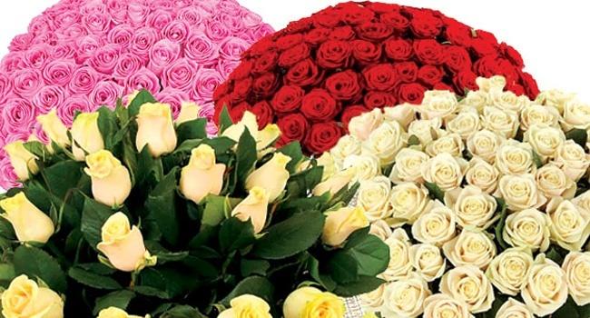 Букеты из роз в интернет-магазине